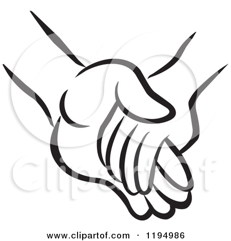 Hand in hand clipart vector royalty free stock Hand i hand clipart - ClipartFest vector royalty free stock