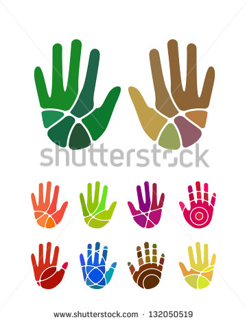 Hand logo clipart clip transparent library Hand Logo Stock Images, Royalty-Free Images & Vectors | Shutterstock clip transparent library