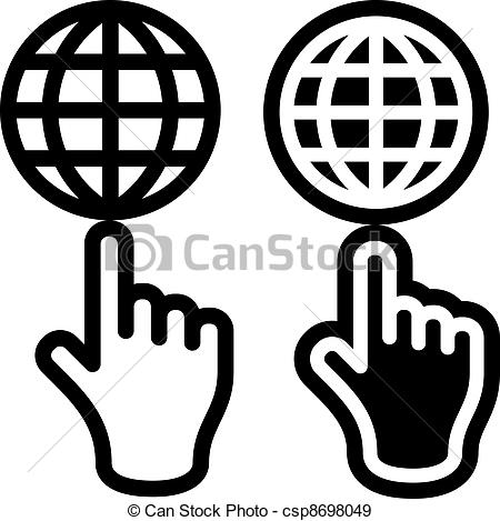 Hand logo clipart clipart black and white download Hand logo clipart - ClipartFest clipart black and white download