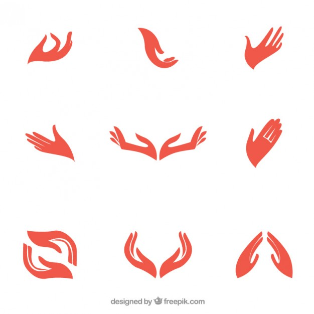Hand logo clipart picture free library Hands Vectors, Photos and PSD files | Free Download picture free library