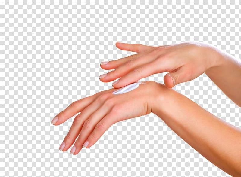Hand lotion clipart jpg free Hand putting cream on top part of hand, Lotion Upper limb Cream Skin ... jpg free