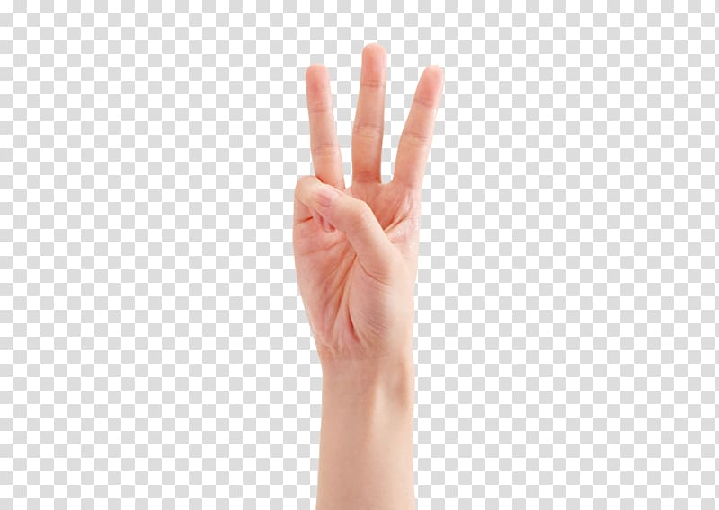 Hand model clipart png free download Person\'s right hand, Thumb Hand model Gesture, Three fingers ... png free download