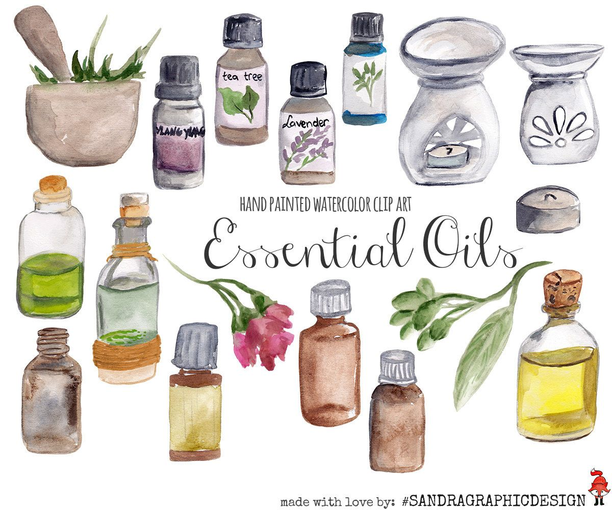 Young living oils clipart
