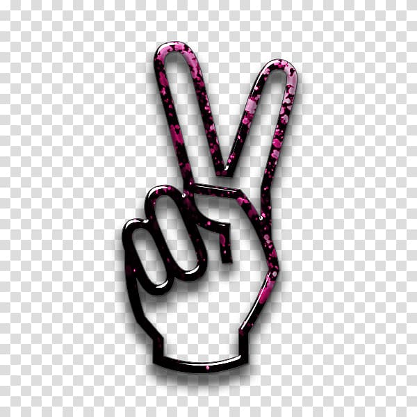 Hand peace sign clipart with no background picture royalty free stock Black and pink peace hand sign , Craft Magnets V sign Peace symbols ... picture royalty free stock
