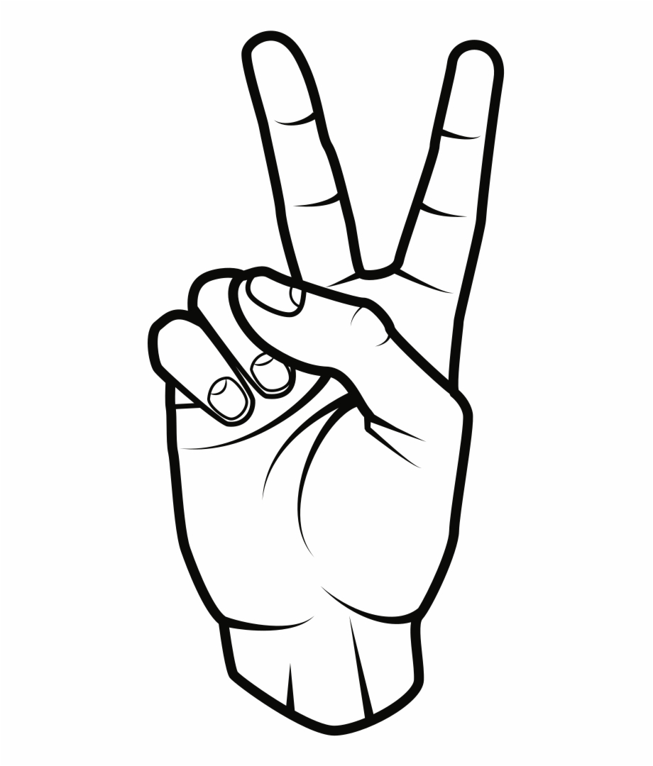 Hand peace sign clipart with no background picture stock Peace Sign - Clip Art Peace Sign Hand Free PNG Images & Clipart ... picture stock