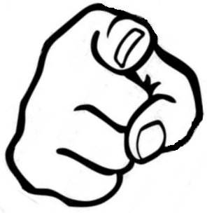 Hand pointing at you clipart vector Free Pointing Finger Cliparts, Download Free Clip Art, Free Clip Art ... vector
