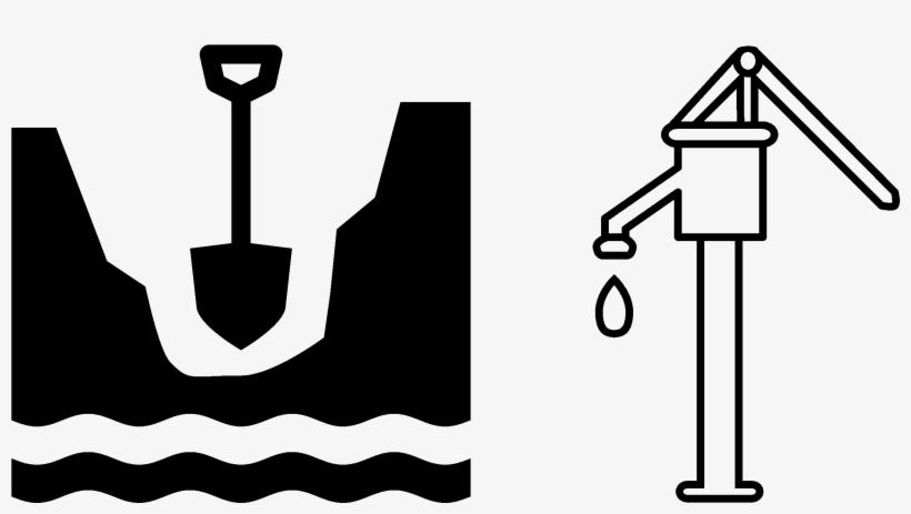 Hand pump clipart jpg transparent Water Well Borehole Hand Pump Clip Art - Water Hand Pump Clipart ... jpg transparent