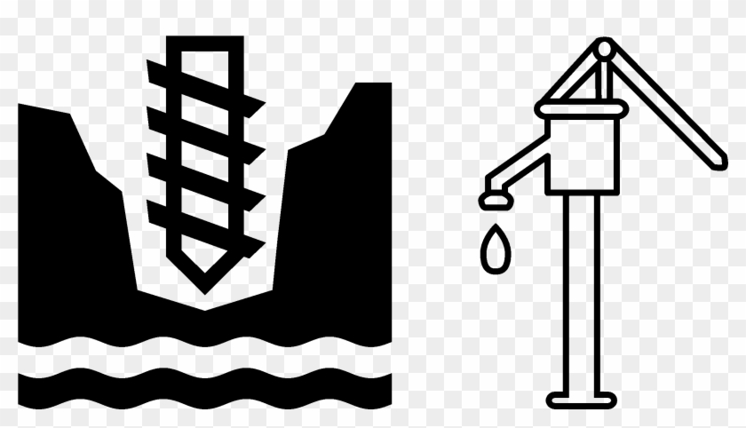 Hand pump clipart jpg The Water Project - Hand Pump Clipart Black And White, HD Png ... jpg