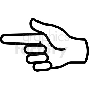 Handpointing clipart clip art royalty free stock hand signal clipart - Royalty-Free Images | Graphics Factory clip art royalty free stock