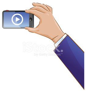 Hand taking a cellphone pic clipart graphic royalty free download Hand Taking A Video Using A Cellphone premium clipart - ClipartLogo.com graphic royalty free download