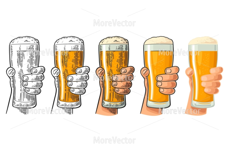 Hand up beer pint clipart clipart freeuse download Beer Glass Drawing at PaintingValley.com | Explore collection of ... clipart freeuse download
