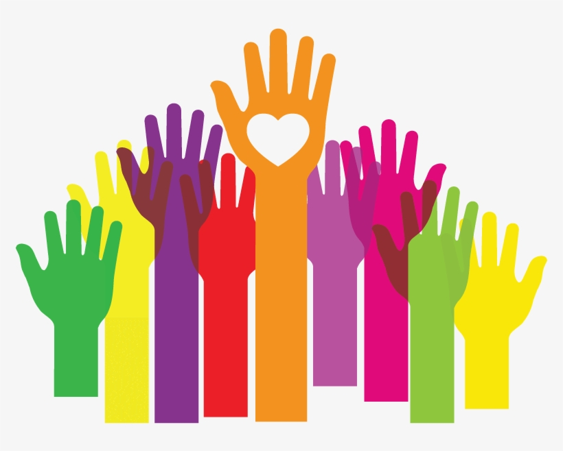 Hands up clipart png library Hands Up Clipart Png - Hands To Larger Service - Free Transparent ... png library