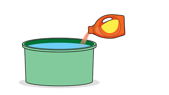 Hand wash only clipart 4 x 6 clipart black and white stock How to Wash Clothes by Hand: 11 Steps (with Pictures) - wikiHow clipart black and white stock