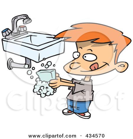 Hand washing cartoon clipart clip royalty free stock Hand washing cartoon clipart - ClipartFest clip royalty free stock