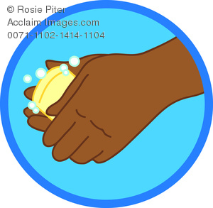 Hand washing clip art clip art free library Clipart Illustration of Person Washing Their Hands With Soap ... clip art free library
