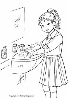 Hand washing clipart black and white jpg download Hand washing clipart black and white - ClipartFox jpg download
