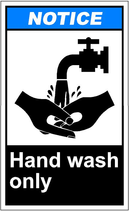 Hand washing clipart free picture black and white library Free Hand Washing Clipart Image - 16127, Hand Washing Sign Clip ... picture black and white library