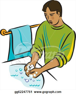 Hand washing soap and water clipart clip art library library Soap Wash Face Clipart - Clipart Kid clip art library library