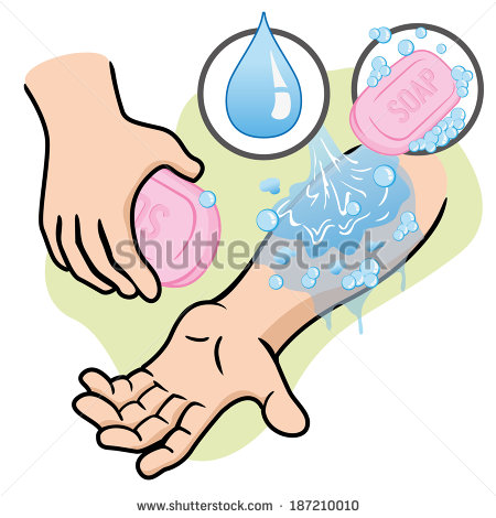 Hand washing soap and water clipart stock Washing Hands With Soap Stock Images, Royalty-Free Images ... stock