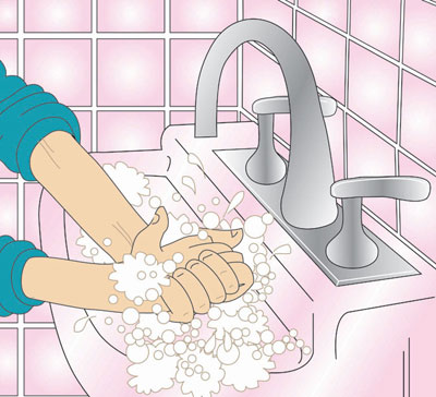 Hand washing soap and water clipart banner freeuse download Hand Washing Clipart - Clipart Kid banner freeuse download