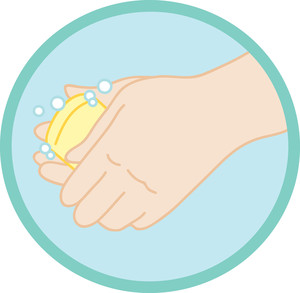 Hand washing soap and water clipart svg royalty free library Hand washing soap and water clipart - ClipartFest svg royalty free library