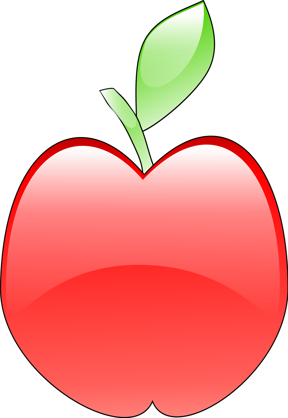 Hand with apple free clipart vector royalty free stock Apple | Free Stock Photo | Illustration of a red apple | # 11472 vector royalty free stock