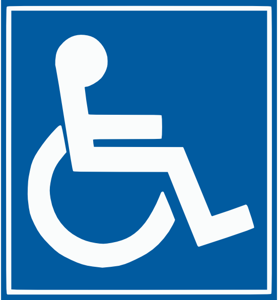 Handicap sign clipart vector library library Free Printable Handicap Parking Signs, Download Free Clip Art, Free ... vector library library