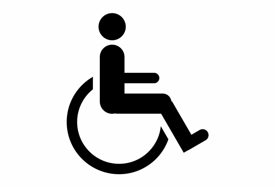 Handicap sign clipart clipart freeuse stock Wheelchair - Handicap Parking Symbol Free PNG Images & Clipart ... clipart freeuse stock