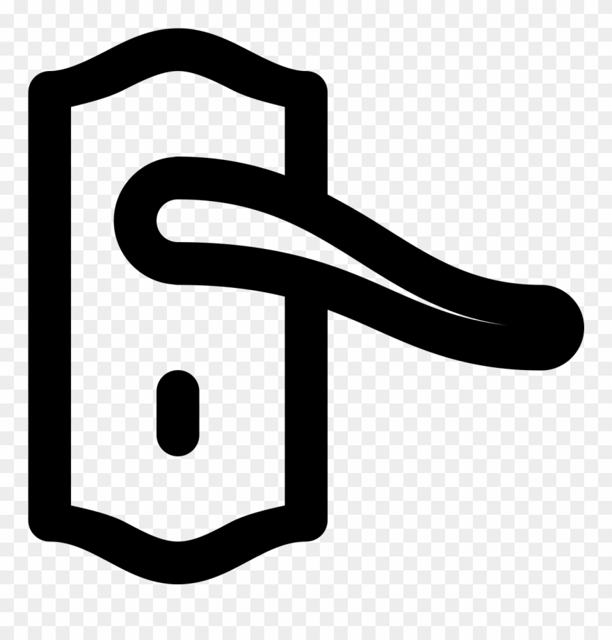 Handle clipart banner library Door Handle Icon - Door Clipart (#214104) - PinClipart banner library