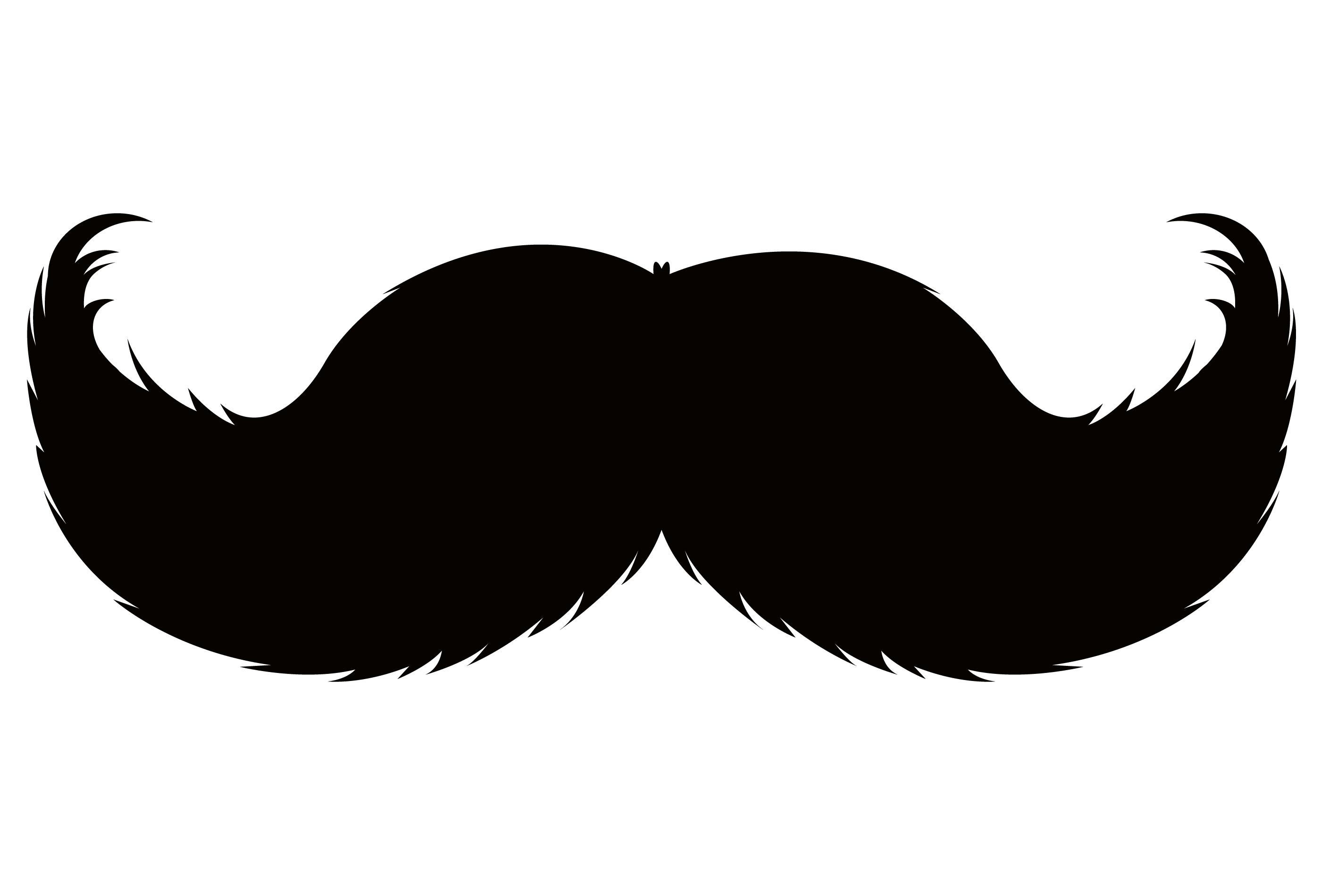Handlebar clipart jpg Handlebar moustache Pencil moustache Beard Clip art - beard and ... jpg