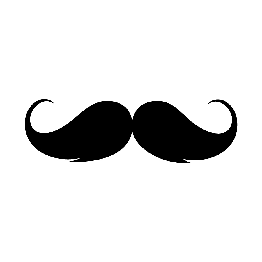 Handlebar clipart picture black and white library 93+ Handlebar Mustache Clip Art | ClipartLook picture black and white library