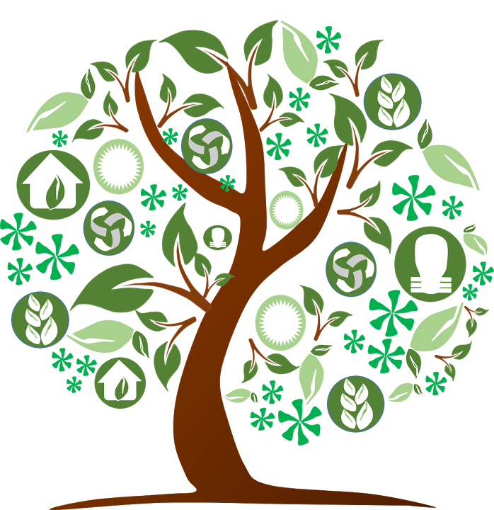 Handprint tree clipart png freeuse library World Environment Day, Environment Day Cliparts | Free Cliparts ... png freeuse library