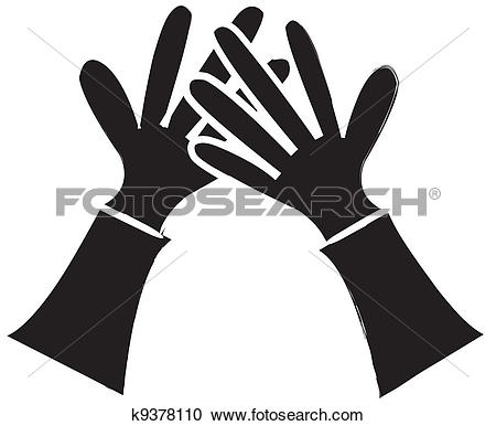Hands 1 2 3 clipart silhouette image freeuse stock Clipart of 1, 2, 3, 4, 5 Silhouette Hands k9378433 - Search Clip ... image freeuse stock