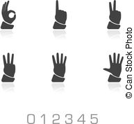Hands 1 2 3 clipart silhouette graphic free stock 1 2 3 4 5 silhouette hands Vector Clip Art EPS Images. 9 1 2 3 4 5 ... graphic free stock