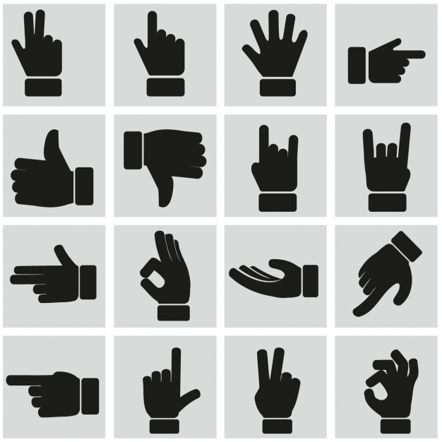 Hands 1 2 3 clipart silhouette color graphic library stock Hands Vectors, Photos and PSD files | Free Download graphic library stock