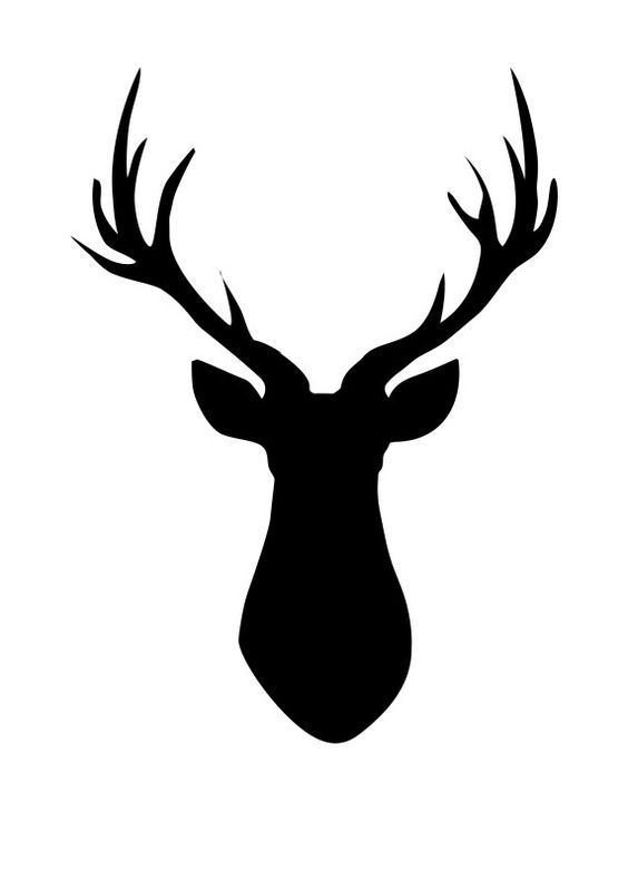 Hands 1 2 3 clipart silhouette color clip black and white 17 Best ideas about Deer Head Silhouette on Pinterest | Reindeer ... clip black and white