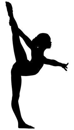 Hands 1 2 3 clipart silhouette color jpg library download Gymnastics Cartoon Clip Art Free | Vector Download » Vector ... jpg library download