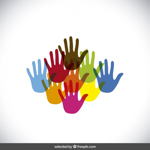Hands 1 2 3 clipart silhouette colorful jpg royalty free download Hands 1 2 3 clipart silhouette colorful - ClipartFest jpg royalty free download
