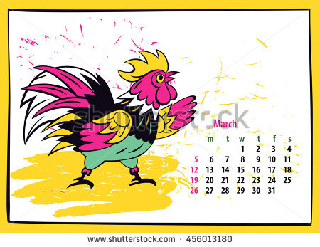 Hands 1 2 3 clipart silhouette colorful picture transparent Calendar 2017 Chinese New Year Rooster Stock Vector 456013180 ... picture transparent