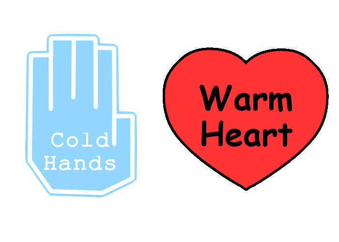 Hands and heart clipart picture library stock Cold hands, warm heart by Arleedraw on DeviantArt picture library stock