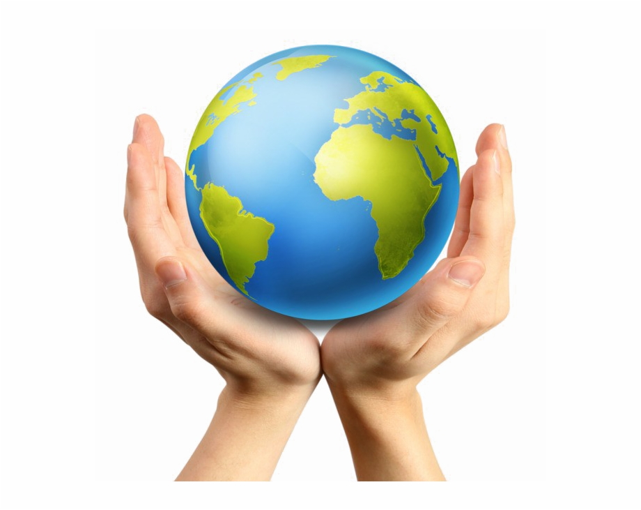 Hands holding earth clipart graphic black and white Earth In Hand Png Image Background - Hands Holding Earth Png Free ... graphic black and white