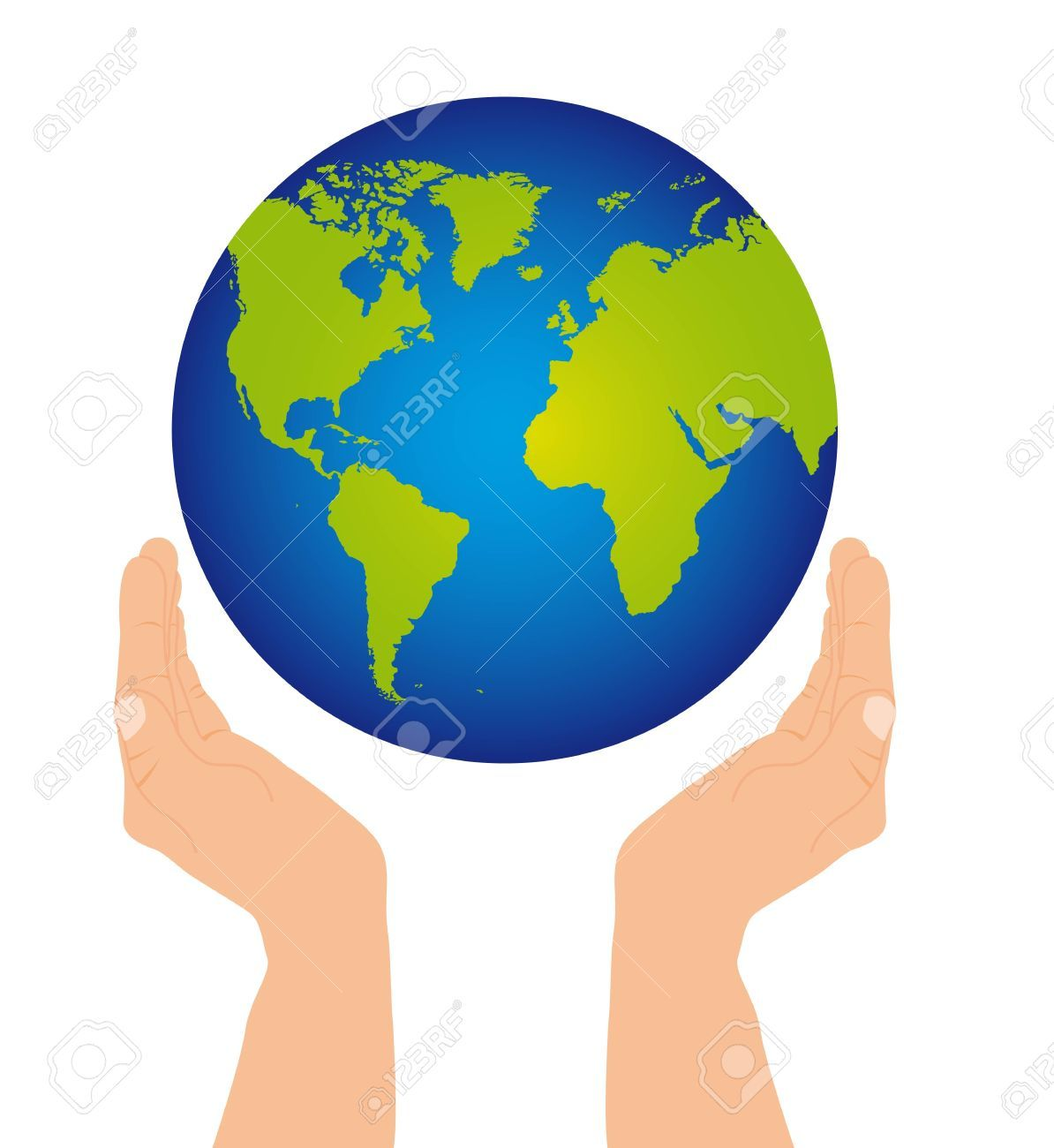 Hands holding globe clipart clip free stock Hands holding globe clipart 8 » Clipart Portal clip free stock