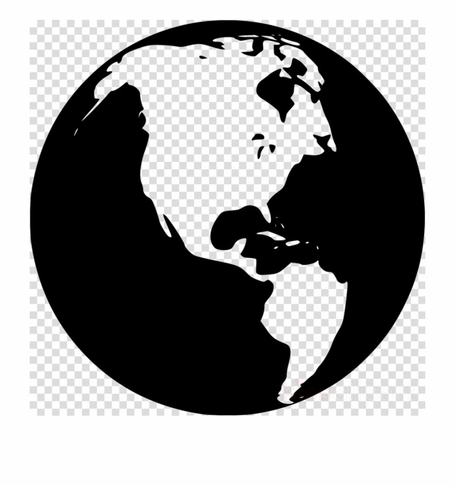 Hands holding globe clipart svg black and white library Png Hands Holding Globe , Png Download - Spoon And Fork Icon ... svg black and white library