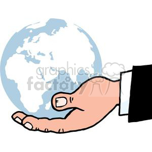 Hands holding globe clipart graphic download 2818-Bussines-Hand-Holding-Globe clipart. Royalty-free clipart # 380377 graphic download