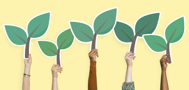 Hands holding plant clipart vector stock Hands holding plant leaves clipart Photo | Premium Download vector stock