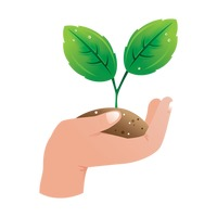 Hands holding plant clipart clipart black and white library Nature Green Eco Ecology Plant Plants Leaves Leaf Environment ... clipart black and white library