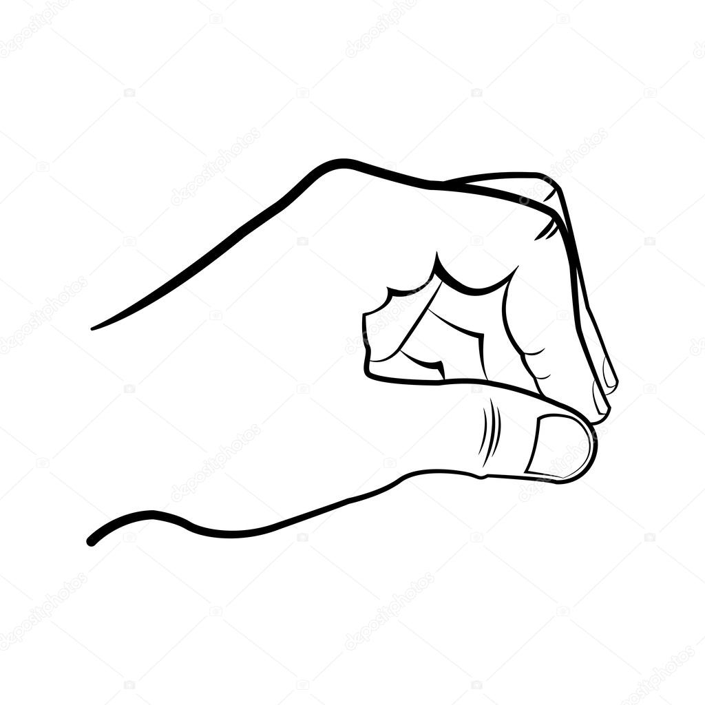 Hands holding something clipart png library library Hand Holding Something Sketch at PaintingValley.com | Explore ... png library library