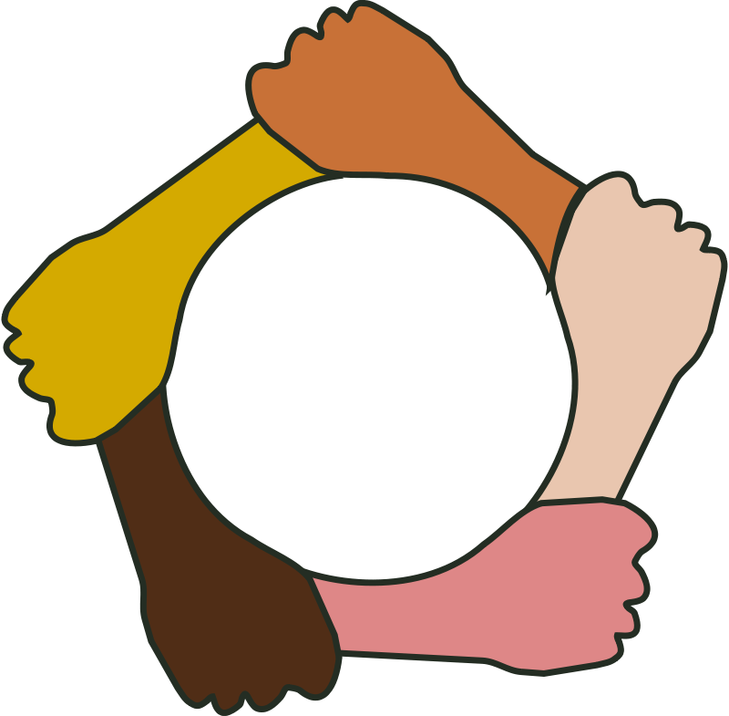 Hands in circle clipart png download Free Clipart: Circle of hands | Tavin png download