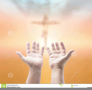 Hands in prayer with cross clipart png vector royalty free Praying Hands With Cross Clipart | Free Images at Clker.com - vector ... vector royalty free