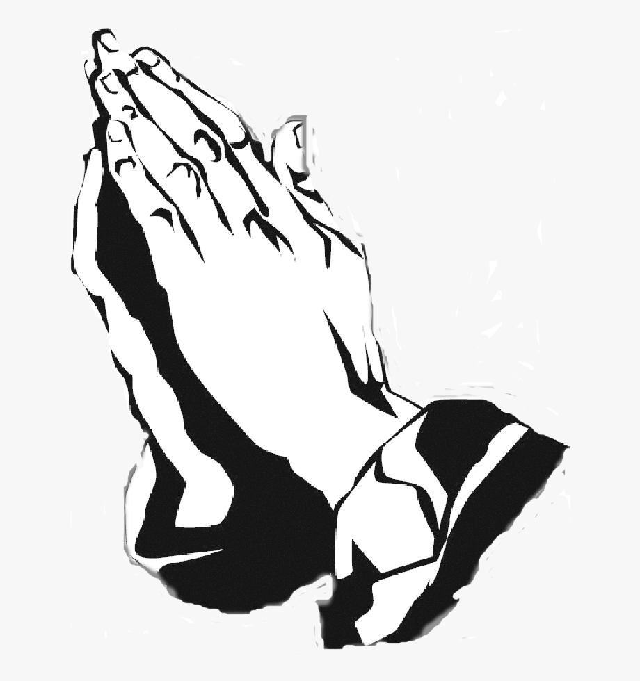 Hands joined in prayer clipart black and white picture library download Black And White Praying Hands Free Download Clip Art - Praying Hand ... picture library download